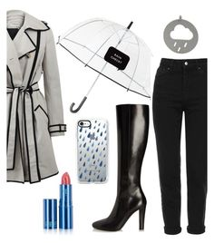 """""""Untitled #188"""" by hummingbirds-heartbeats ❤ liked on Polyvore featuring Kate Spade, Topshop, Lanvin, Yves Saint Laurent, Casetify and Lipstick Queen"""