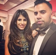 Jasmin Walia from Towie meets Anj Baij from Desi Rascals. Perhaps a spinoff series in the workings?