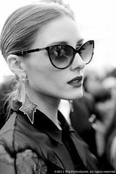e69d5bf4bd Before the Christian Dior Show  Olivia Palermo. Sunglasses ...