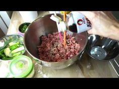如何調製包子水餃的肉餡 - YouTube