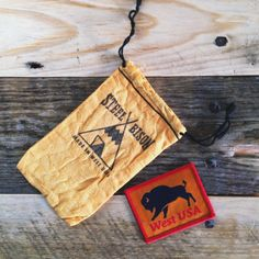 """Steel Bison """"WEST"""" Patch bundle. this is really sick"""