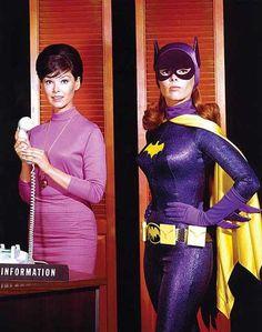 Yvonne Craig as Barbara Gordon and Batgirl.