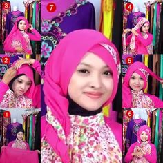 Tutorial Hijab Paris Segi Empat / Hijab Tutorial Square Scarf