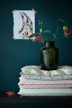 Via Dewcor8 blog, Bungalow from Denmark. The sweetest prettiest little floral designs on paper and fabrics.