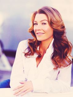 Ellen Pompeo is basically my favorite person ever and she is gorgeous