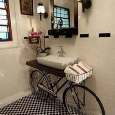 A definite must have bathroom when Ty & I own a house...super cute! by sofia