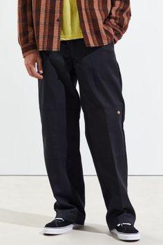 Slim Fit Chinos, Stretch Chinos, Dickie Work Pants, Dickies Pants, Cotton Pants, Skinny Fit, Work Wear, Man Shop, How To Wear