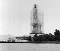 Building the Statue of Liberty: The United States, for their part, was expected to build the pedestal, but fundraising proved a difficult task: Americans were critical of the statue, claiming that the U.S. shouldn't have to contribute to a gift meant for them. As a result, the pedestal wasn't completed until 1885, after which France disassembled the colossal statue and shipped the parts to the United States to be reassembled there.