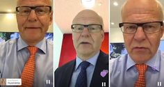 Reijo Karhinen kuvaa Periscope-lähetyksiä. Nuoret Suomen johtoon vanhojen tilalle, sanoo jättiyrityksen johtaja – ja tekee sen emojeilla, twiiteillä ja Periscopella - Internet - Nyt
