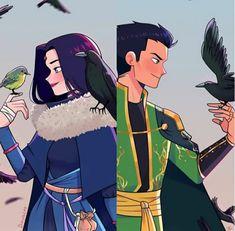 Raven Comics, Dc Comics Art, Batman Comics, Batman Love, Batman Robin, Robin Y Raven, Damian Wayne Batman, Original Teen Titans, Cute Halloween Makeup