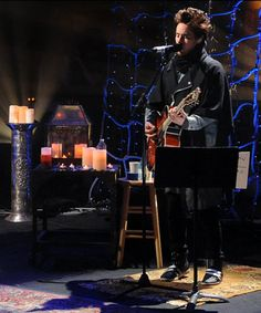 Jared Leto strums his guitar during the 'Unplugged' performance of 'Hurricane. Thirty Seconds, 30 Seconds, Mtv Unplugged, Him Band, One Life, Out Of This World, Jared Leto, Mars, First Love