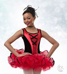 Curtain Call Costumes® - Dance With Delight Latin/Spanish inspired ballet dance costume