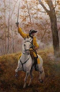 Regimiento de Lusitania, Septiembre 1744 - Cuneo Italia - José-Ferré Clauzel