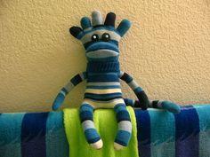 stripey sock guy - I need to find some toe socks!