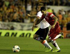 5ª jornada Liga BBVA. Valencia CF 3-1 Sevilla FC