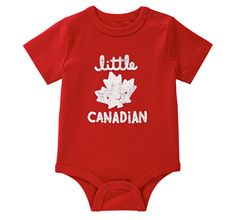 Joe Fresh Onesie | Canada Day Styles Perfect For Your Baby | The Baby Post