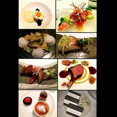 California tasting menu at Spago Beverly Hills #lastnight #caviar #potatomousse #prawns #goatcheeseagnolotti  #englishpeas #blackcod #squab #lamb #cheesesoufflé #cookies #chocolates #greatcompany