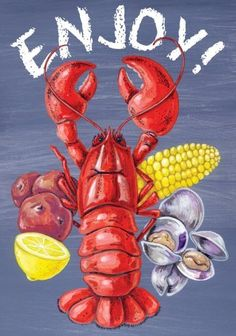 Toland Home Garden 102591 Lobster Clam Bake Decorative House Flag, 28 by 40-Inch by Toland Home Garden. $19.30. Decorative flags by Toland feature licensed artwork that is favored by flag flyers. Toland Flags are Heat Sublimated to permanently dye fabric for long lasting color. House Flag Size: 28 inches by 40 inches. Sublimated Flag made from 600 denier polyester fabric. All Toland Flags are machine washable and UV, mildew, and fade resistant. The Lobster Clam Bake Hous...