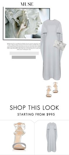 """""""Muse"""" by theitalianglam ❤ liked on Polyvore featuring Gianvito Rossi, Valentino and Balenciaga"""