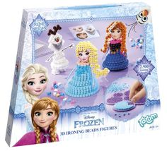 Frozen 3D strijkkralen figuren maken