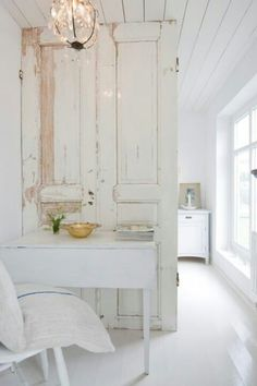 Old door divider- like