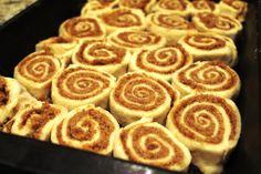 Easy Cinnamon Rolls - no yeast needed!