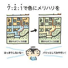 デザインの基本日記 「配色編」|Design Beginner|note Web Design, Design Basics, Graphic Design Tips, Page Design, Layout Design, Buch Design, Design Theory, Article Design, Japanese Design