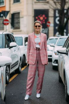 """Helena Bordon: These Milan Fashion Week Street Style Moments Will Have You Saying, """"What Runway?"""" Image Source: Style Du Monde"""