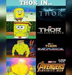 Tagged with memes, avengers, endgame, iusememestohidemycripplingdepression; Stolen Avengers Endgame memes to help you through these difficult times Avengers Humor, Marvel Jokes, Funny Marvel Memes, Dc Memes, Marvel Dc Comics, Funny Comics, Marvel Avengers, Memes Humor, Thor Meme