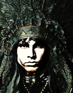 Jim Morrison  | I am the Lizard King