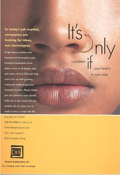An older writing example, but still a favorite. This recruiting ad served as the basis for a rebranding campaign for a boutique recruiting company. It was used for print advertisements, direct mailing pieces and a website. Mail Marketing, Marketing Jobs, Best Advertising Campaigns, Recruitment Advertising, Growing Companies, Job Ads, Direct Mail, Copywriting, A Boutique