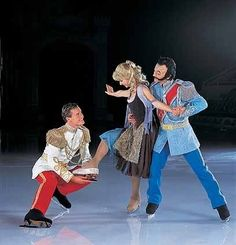 Disney On Ice. Good for that Cinderella and her ability to balance like that
