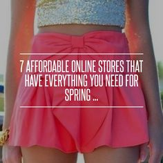 7 #Affordable Online #Stores That Have Everything You Need for #Spring… #Shopping