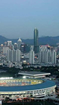 Shenzhen, Guangdong Province, China, Asian, Geography, Cityscape