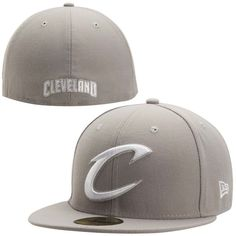 * Mens Cleveland Cavaliers Gray Team Logo 59FIFTY Fitted Hat, Your Price: $34.99