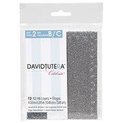 ConsumerCrafts Product David Tutera™ Celebrate A2/A6 Edge Combo Glitter Layers