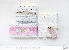 stephanie makes: Glitz Design: Handmade Gift Wrap