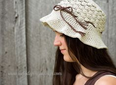 Pebble Beach Hat {Free #Crochet Pattern}