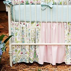 Carousel Designs Love Birds 2-Piece Crib Bedding Set