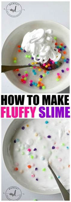 How to make Fluffy Slime (Clear Glue Recipe!) Fluffy slime is such a different experience in texture,