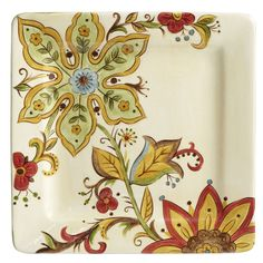 Carynthum Square Dinner Plate - Pier1 US
