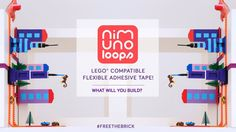 NIMUNO LOOPS - LEGO® COMPATIBLE TAPE IS HERE