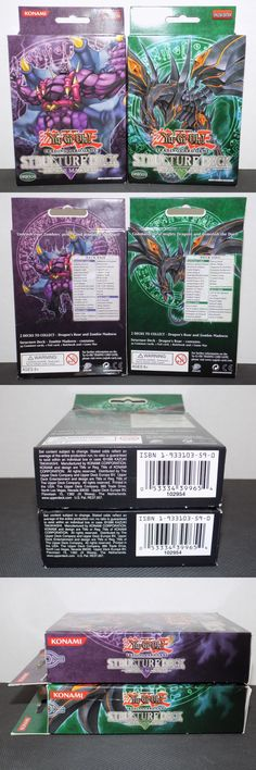 Yu-Gi-Oh Sealed Decks and Kits 183452: Zombie Madness And Dragon S Roar Structure Deck Yugioh Unlimit Edition New Sealed -> BUY IT NOW ONLY: $79.99 on eBay!