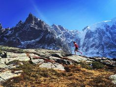 #running #tribesports #ownyourmarks #fitness #runners Shoutout to tinaemelie // Back in the alps! #trailrunning http://ift.tt/1MUl71o
