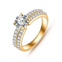 New Arrival Engagement Rings Real Platinum Plated Micro Pave AAA Cubic Zirconia Ring Jewelry CRI0022(China (Mainland))