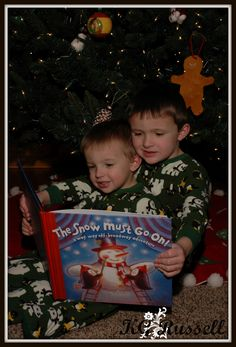 Siblings Christmas Shoot  Broome County, NY  KGRussell Photography