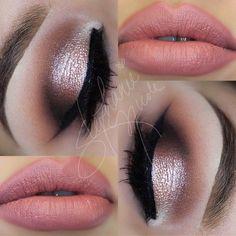 frosty pink / coral #smokey eye | #romantic #makeup @muastephnicole