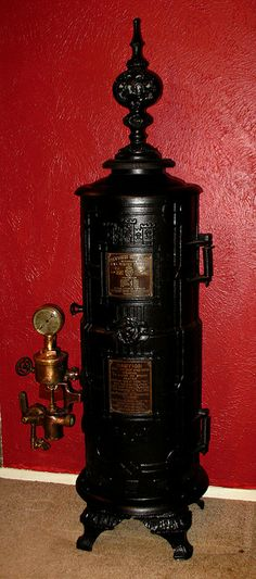 antique heater/I replaced one of these in 96,we left it in the basement,it was a work of art,I wanted it bad but it was sooo heavy :)