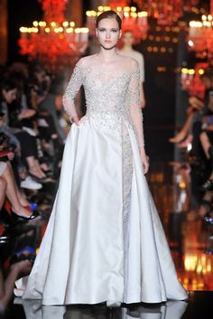 Sfilata Elie Saab - Autunno-Inverno 2014-2015 Alta Moda - Parigi - Moda - Elle