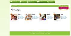 Educa Help Centre | How to add a new Teacher